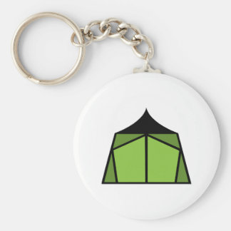 Camp Tent Key Ring