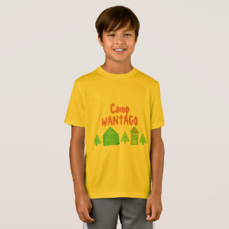 'Camp Wantago' Design for young adults T-Shirt