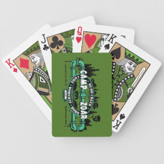 Camp Zoar playing cards