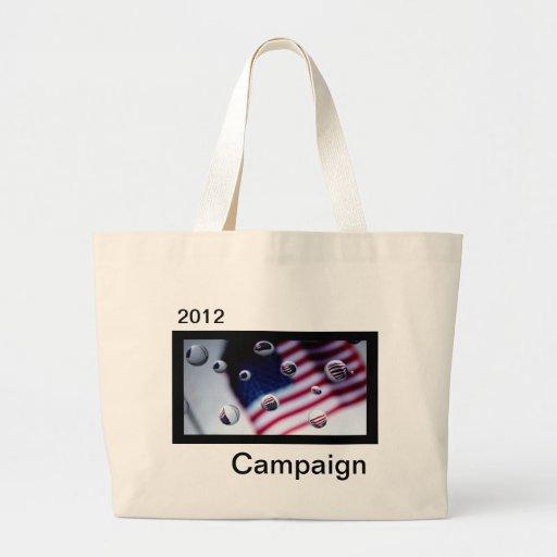Campaign 2012 tote bags
