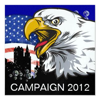 Campaign 2012 - SRF 13 Cm X 13 Cm Square Invitation Card