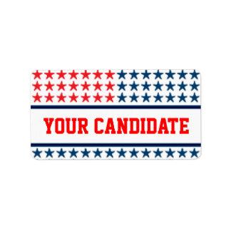 Campaign Advertisement Address Label