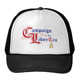 Campaign for Liber-Tea Cap