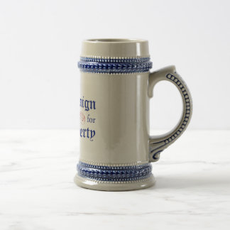 Campaign for Liberty Logo Blue Stein