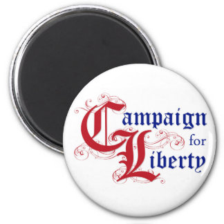 Campaign for Liberty Logo Button 6 Cm Round Magnet