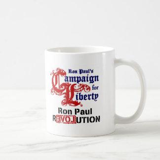 Campaign For Liberty Ron Paul Basic White Mug