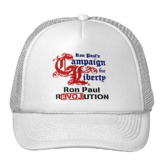 Campaign For Liberty Ron Paul Trucker Hat