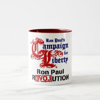 Campaign For Liberty Ron Paul Mugs