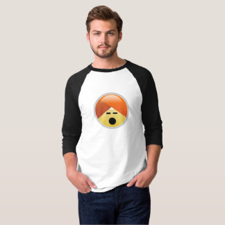 Campaign Guru Anguished Turban Emoji T-Shirt