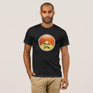 Campaign Guru Disappointed Turban Emoji T-Shirt
