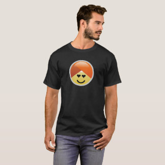 Campaign Guru Heart Eyes Turban Emoji T-Shirt