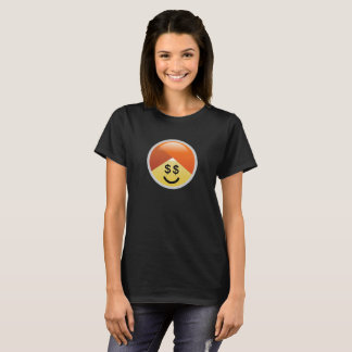 Campaign Guru Money Eyes Turban Emoji T-Shirt