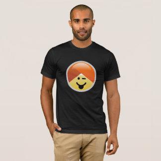 Campaign Guru Tongue Winking Turban Emoji T-Shirt