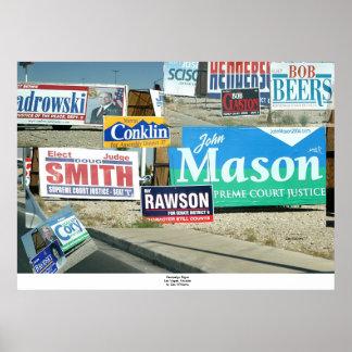 Campaign Signs Las Vegas Print