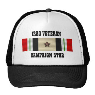 CAMPAIGN STAR / HAT / IRAQ VETERAN
