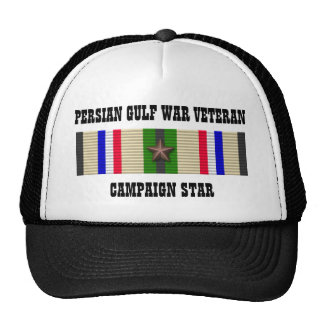 CAMPAIGN STAR / PERSIAN GULF WAR VETERAN CAP