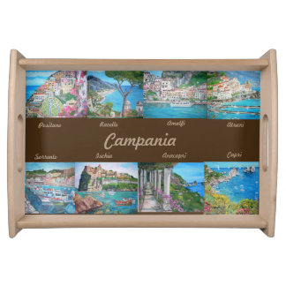 Campania - Small Serving Tray, Natural Serving Tray