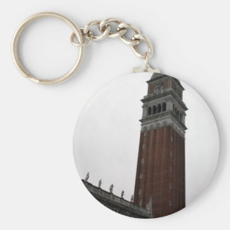Campanile Piazza San Marco Basic Round Button Key Ring