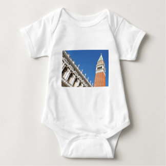 Campanile tower in Venice, Italy Baby Bodysuit