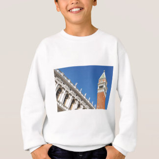 Campanile tower in Venice, Italy Sweatshirt