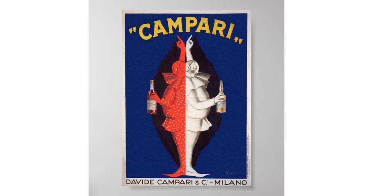 Campari Twins Poster Zazzle Com Au