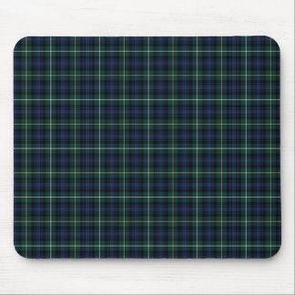 Campbell Clan Tartan Navy Blue Plaid Mouse Pad