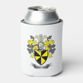 Campbell Family Crest Coat of Arms Can Cooler