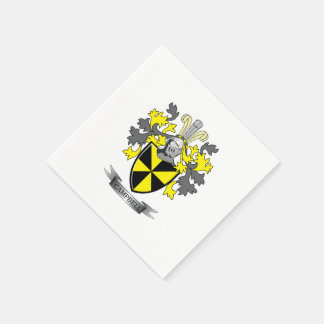 Campbell Family Crest Coat of Arms Disposable Napkins