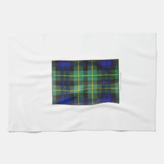 CAMPBELL OF BREADALBANE FAMILY TARTAN TEA TOWEL