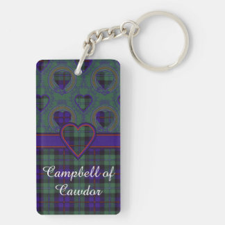 Campbell of Cawdor clan Plaid Scottish tartan Key Ring