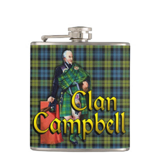 Campbell Old Scotland Hip Flask