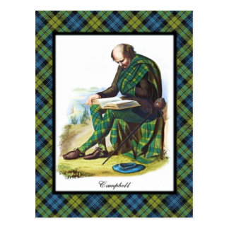 Campbell Scottish Dreams Postcard
