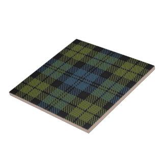 Campbell Scottish Expressions Tartan Ceramic Tile