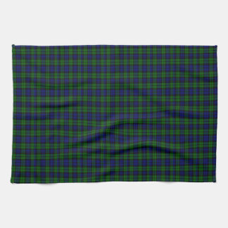 Campbell Scottish Tartan Tea Towel