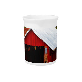 campbells covered bridge pitcher