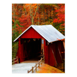 campbells covered bridge postcard