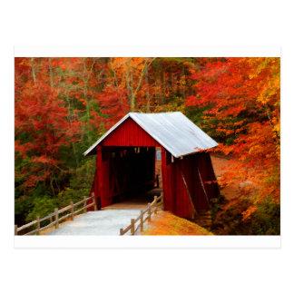 campbells covered bridge postcard