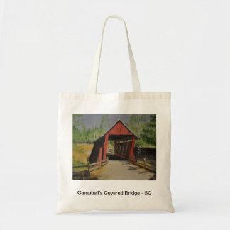 Campbell's Covered Bridge - South Carolina Canvas Bag