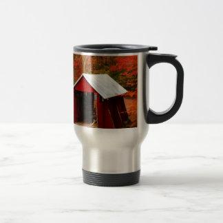 campbells covered bridge travel mug