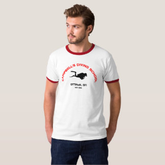 Campbell's Diving School Ringer T T-Shirt