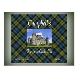 Campbell's Inveraray Castle Ale Postcard