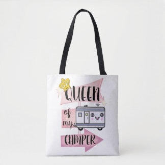 Camper Camping Funny RVing Lifestyle Tote Bag
