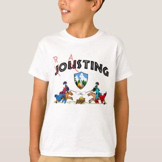 Camper Knights Roasting Marshmallow Funny Dark T-Shirt