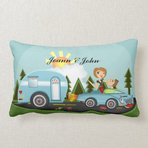 Camper Paridise ** Please custom/art size pillow!