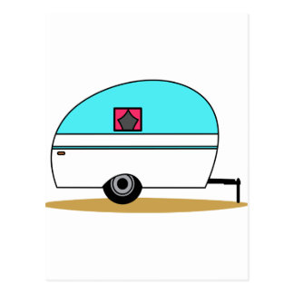 Camper Postcard