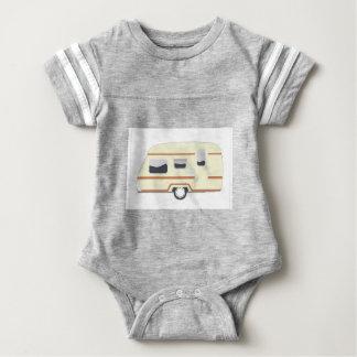 Camper Trailer Camping Van Baby Bodysuit