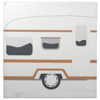 Camper Trailer Camping Van Napkin
