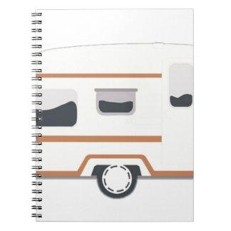 Camper Trailer Camping Van Notebook