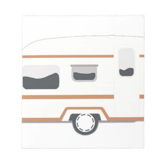 Camper Trailer Camping Van Notepad
