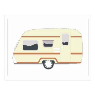 Camper Trailer Camping Van Postcard